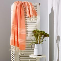Little Cove Turkish Towel Tangerine