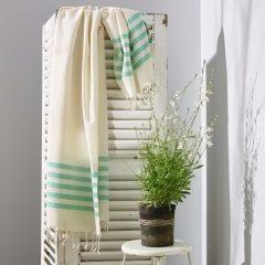 Sorrento Turkish Towel Green