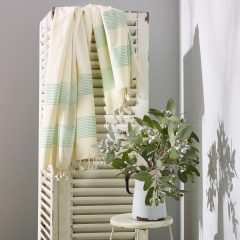 Little Cove Turkish Towel Green