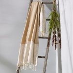 Freshwater Turkish Towel Brown