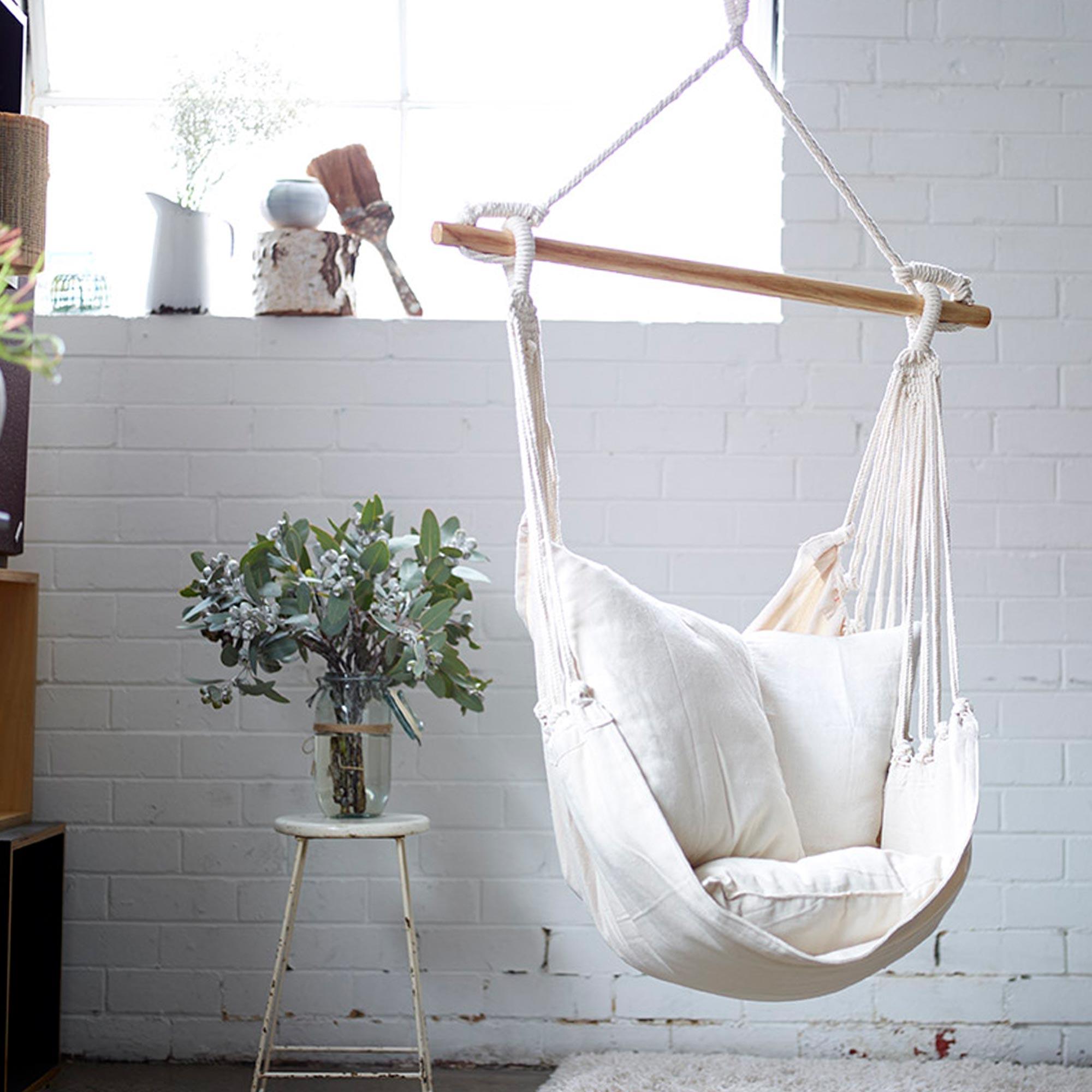 noosa hammock swing natural buy cotton hammocks online   indoor  u0026 outdoors hammocks  rh   collectivesol   au