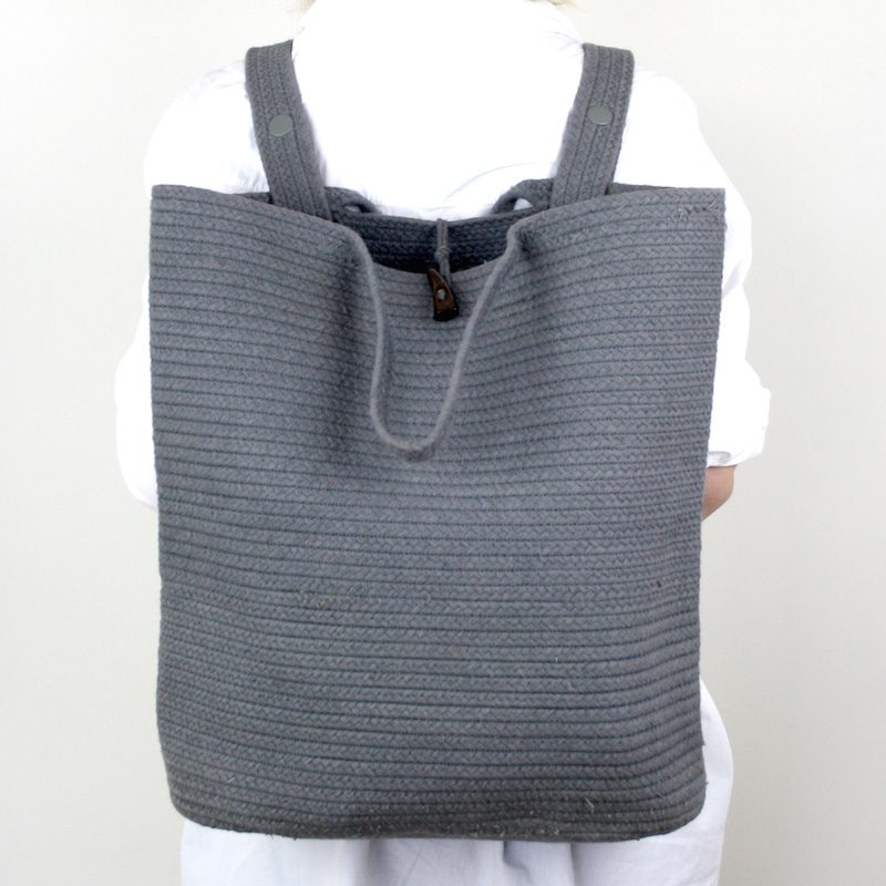 Santorini-Backpack-Grey Collective Sol