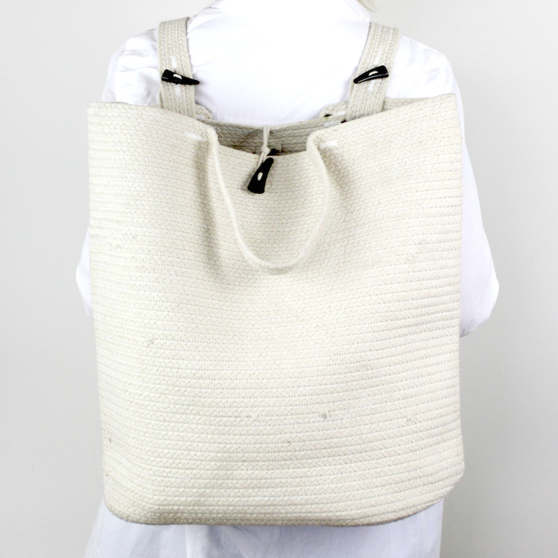 Santorini-Backpack-Cream Collective Sol