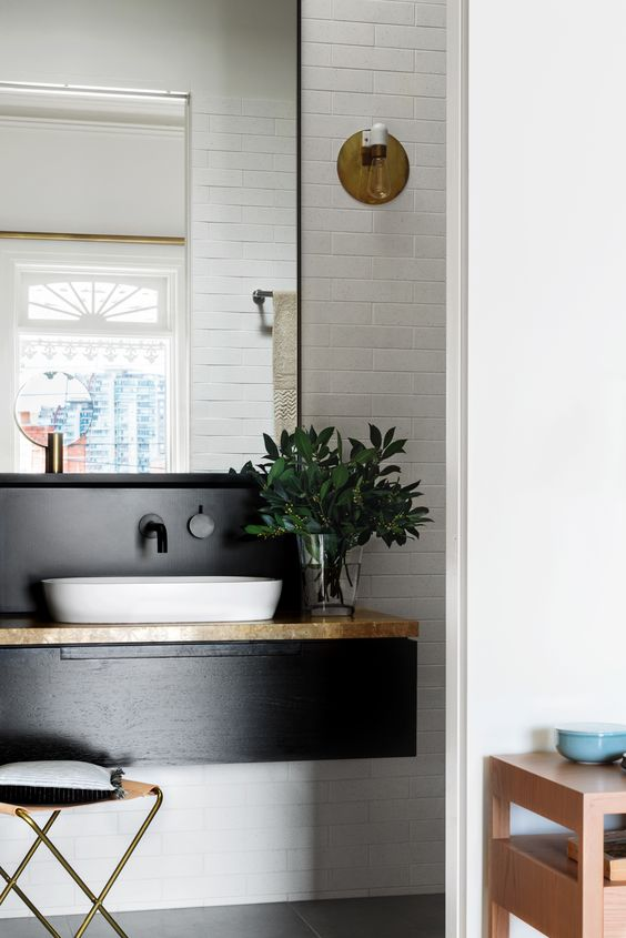 Luxury Monochrome bathroom inspiration