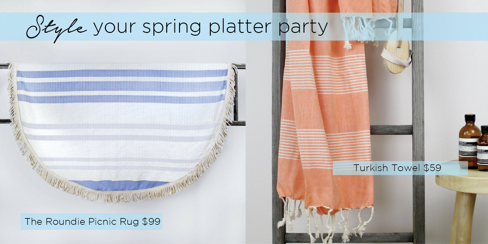 How to prepare the perfect spring party platter