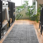 Tribal Mudcloth Blue Runner Rug Collective Sol