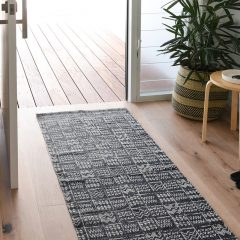 Collective Sol Tribal Rug Runner Blue