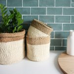Collective Sol Grass Baskets Collection Set 3