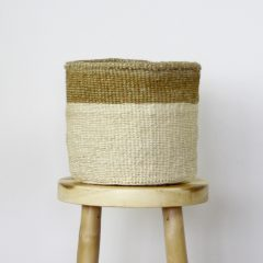 African Grass Basket Large