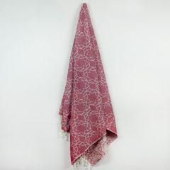Amalfi Turkish Towel Ruby
