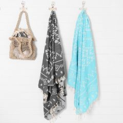 Santorini Turkish Towel Collective Sol