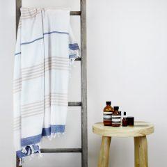 Capri Turkish Towel Blue