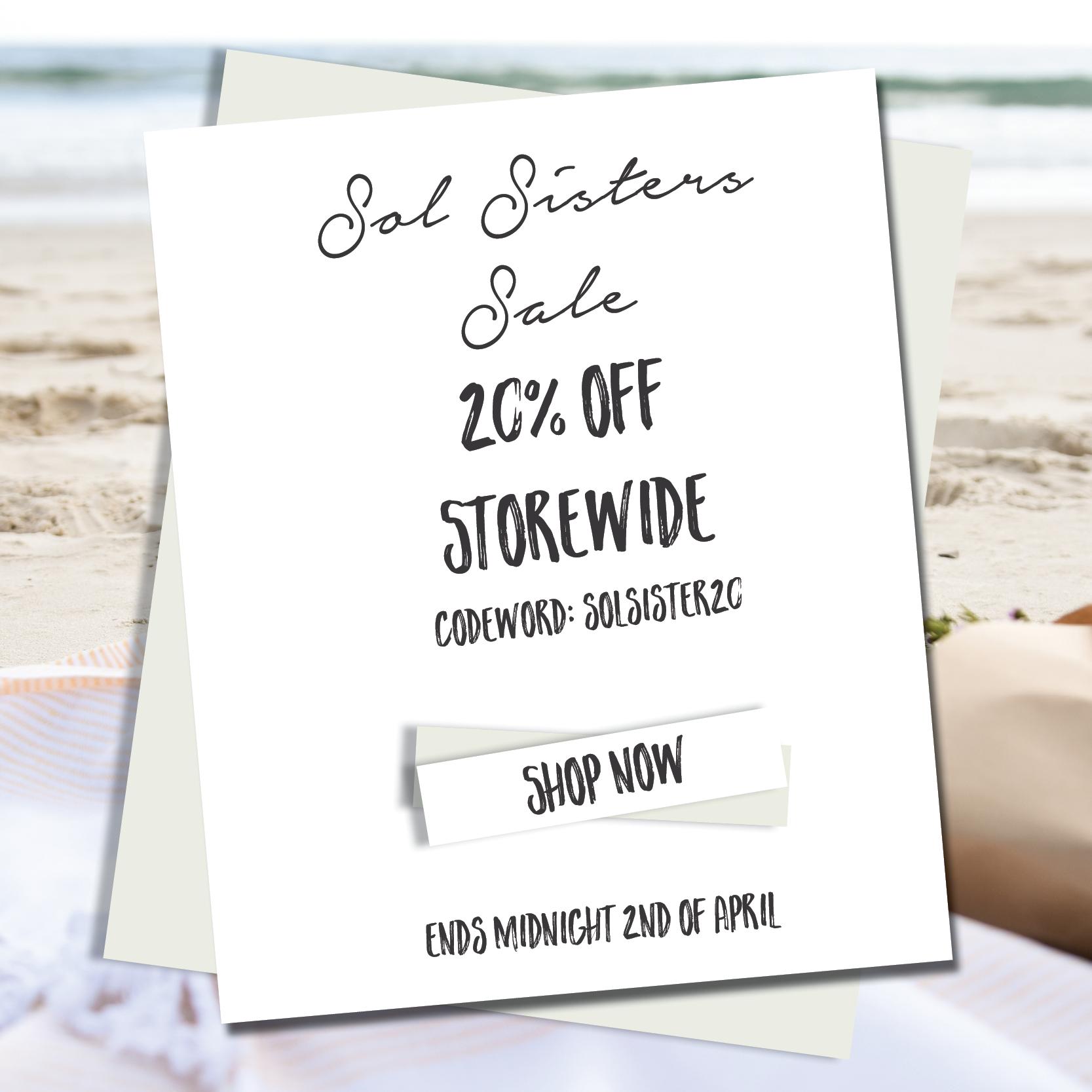 Sol sister interiors homewares sale
