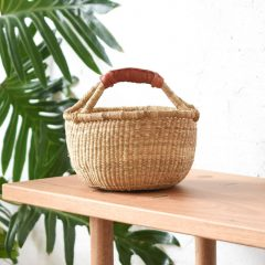 Baby Bolga Natural Basket Collective Sol