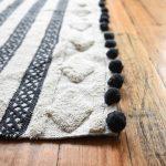 Matisse Black Modern Rug