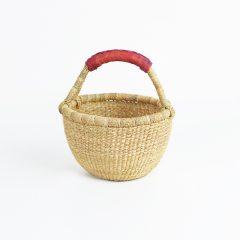 Natural Bolga Basket Large Baby Fairtrade