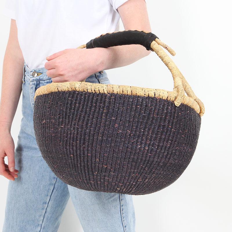 Black Bolga Market Basket Collective Sol
