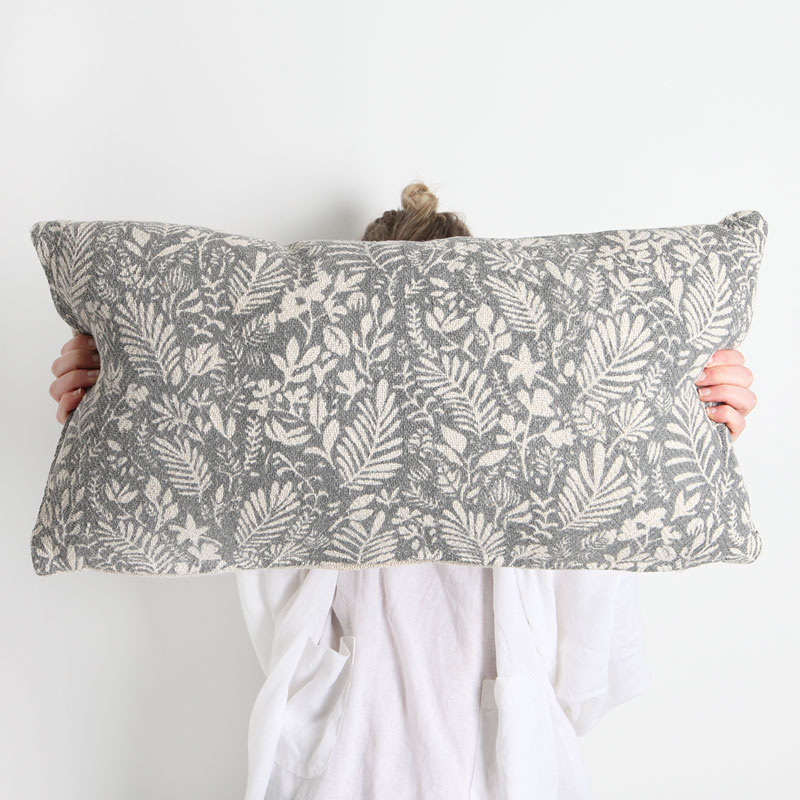 Lola Cotton Cushion Rectangle Collective Sol