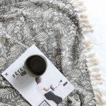 Lola Cotton Throw Grey Natural Collective Sol