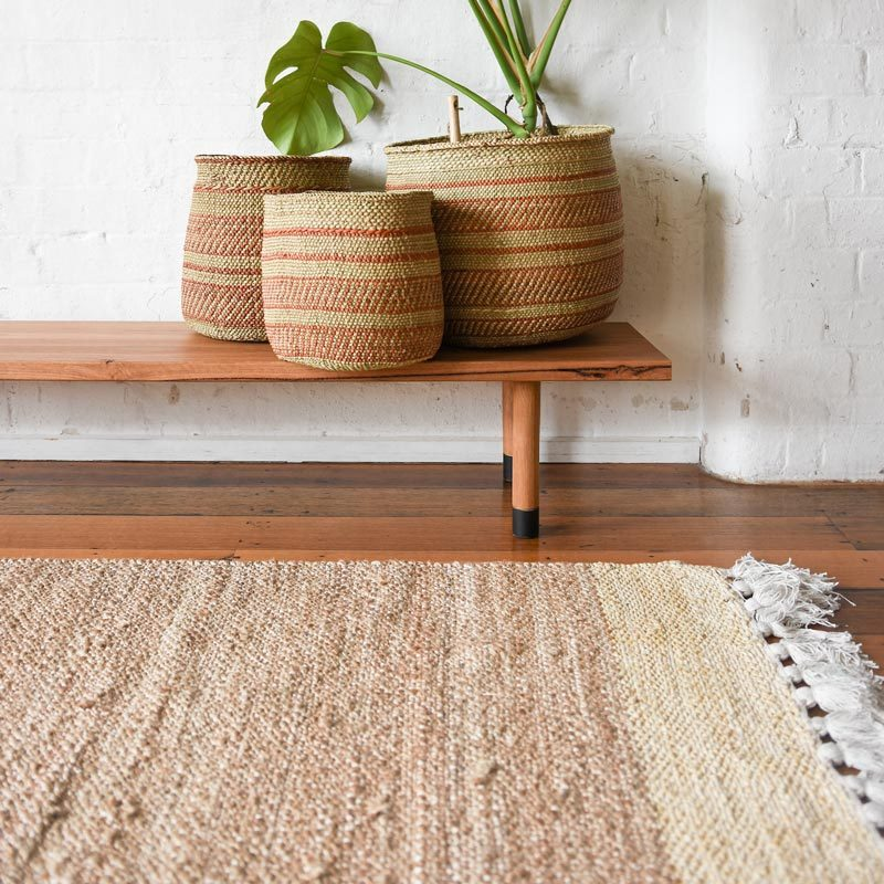 Freida Rug Natural Jute Collective Sol