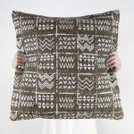 Tribal Cushion Latte Collective Sol
