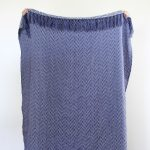Aztec Knit Throw Blue Collective Sol