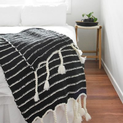 Bubble Striped Throw Collective Sol