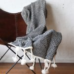 Waffle Knit Throw Collective Sol