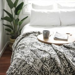 Claudette Knit Throw Collective Sol
