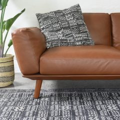 Tribal Rug Charcoal Collective Sol