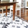 Traditional Rug Black White Collective Sol