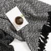 Aztec Throw Black Collective Sol