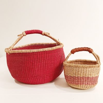 Mama & Mini Red Basket Set Collective Sol