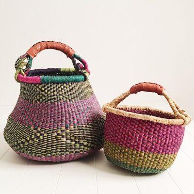 Mama & Mini Purple Basket Set Collective Sol