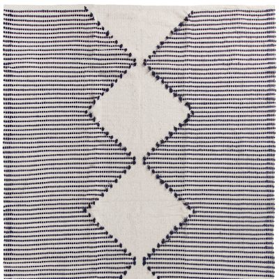 Evie Rug Blue Large Collective Sol