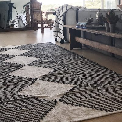 Evie Rug Blue Extra Large Collective Sol