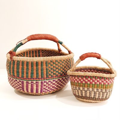 Mama & Mini Green Basket Set Collective Sol