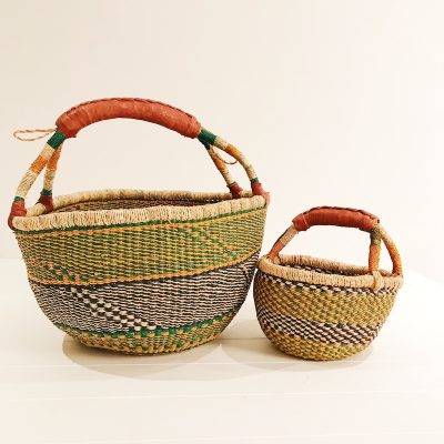 Mama & Mini Yellow Basket Set Collective Sol