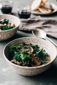 Lentil Mushroom Soup