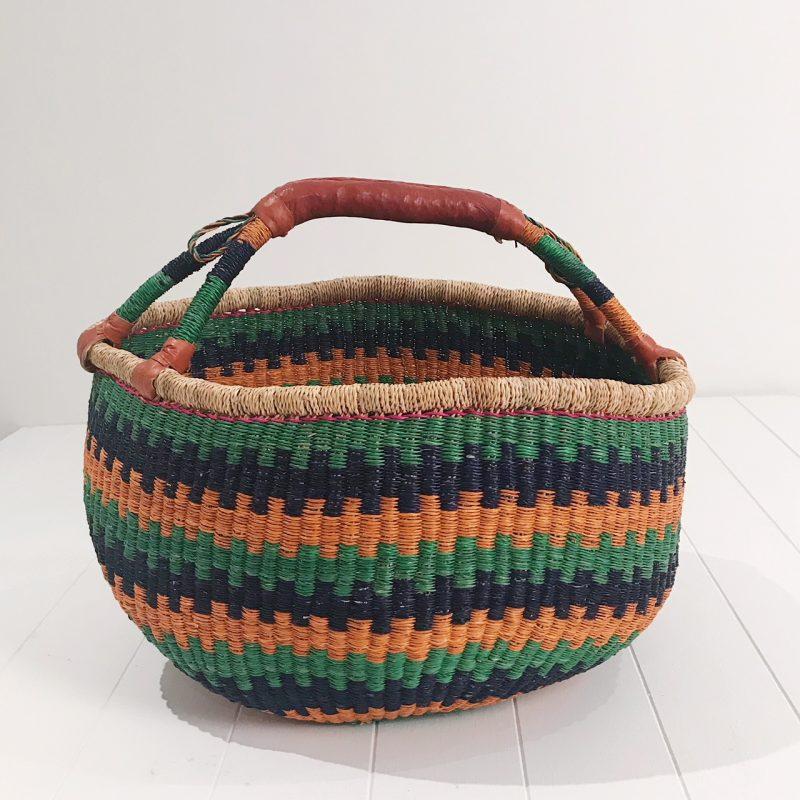 Fairtrade Market Basket Green Collective Sol Australia