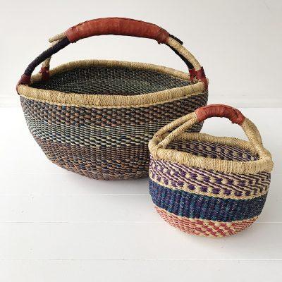 Mama Mini Basket Set Indigo