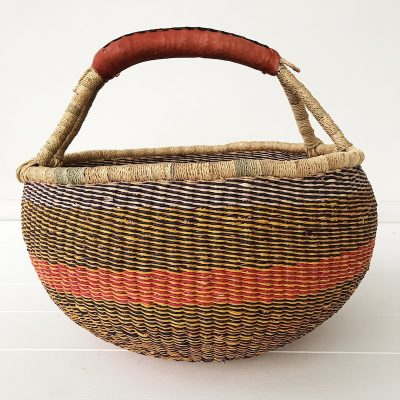 Azalea Large Market Bolga Basket Collective Sol
