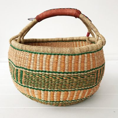 Forest Large Market Bolga Basket Collective Sol