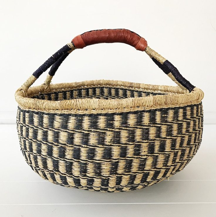 Juniper Large Market Bolga Basket Collective Sol