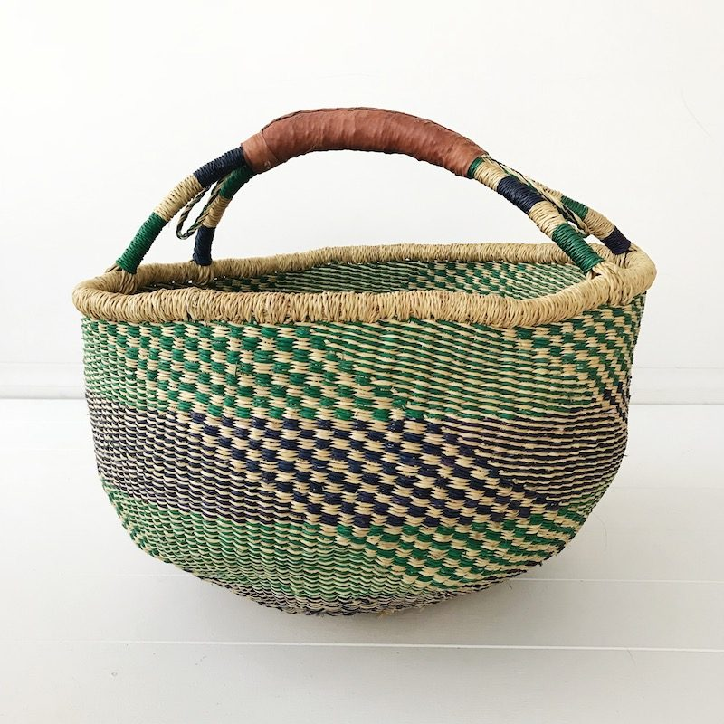 Fern Large Market Bolga Basket Collective Sol