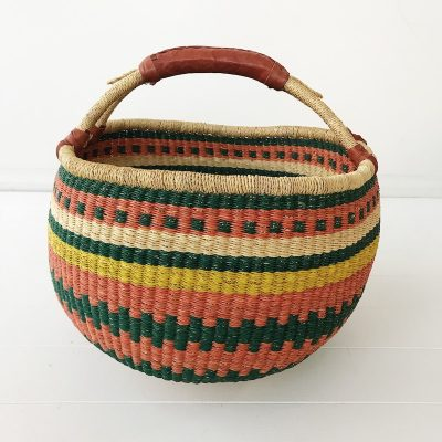 Maple Large Market Bolga Basket Collective Sol