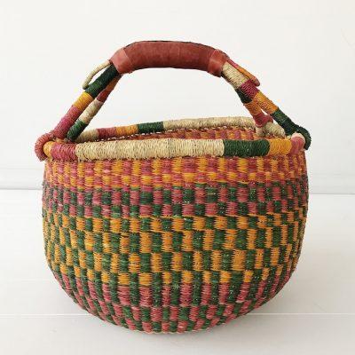 Harvest Large Market Bolga Basket Collective Sol