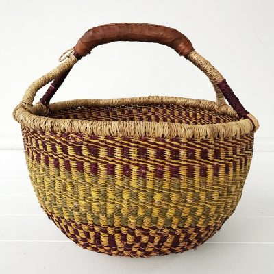 Mulberry Large Market Bolga Basket Collective Sol