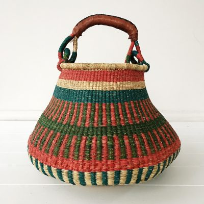 Reef Large Market Bolga Basket Collective Sol