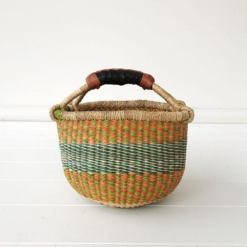 Apricot Mini Market Bolga Basket Collective Sol